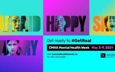 CMHA Mental Health Week In Canada (May 3-9, 2021)