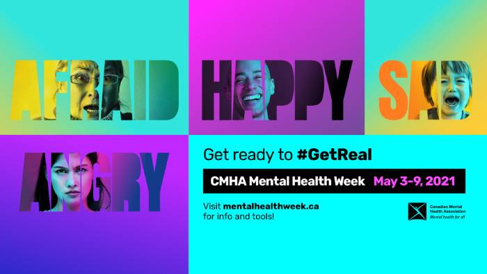 CMHA Mental Health Week In Canada
